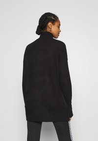 Nly by Nelly - LONG ROLL NECK  - Jumper - black - 2