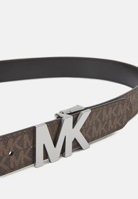 Michael Kors - BUCKLE BELT - Gürtel - brown/black - 3