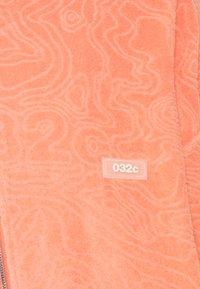 032c - TOPOS SHAVED TERRY JACKET - Lehká bunda - ex neon coral - 9