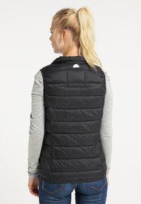 ICEBOUND - Waistcoat - schwarz - 2