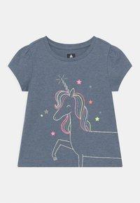 GAP - TODDLER GIRL  - Print T-shirt - blue - 0