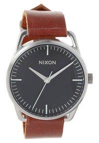 Nixon - MELLOR - Klocka - black/saddle - 2