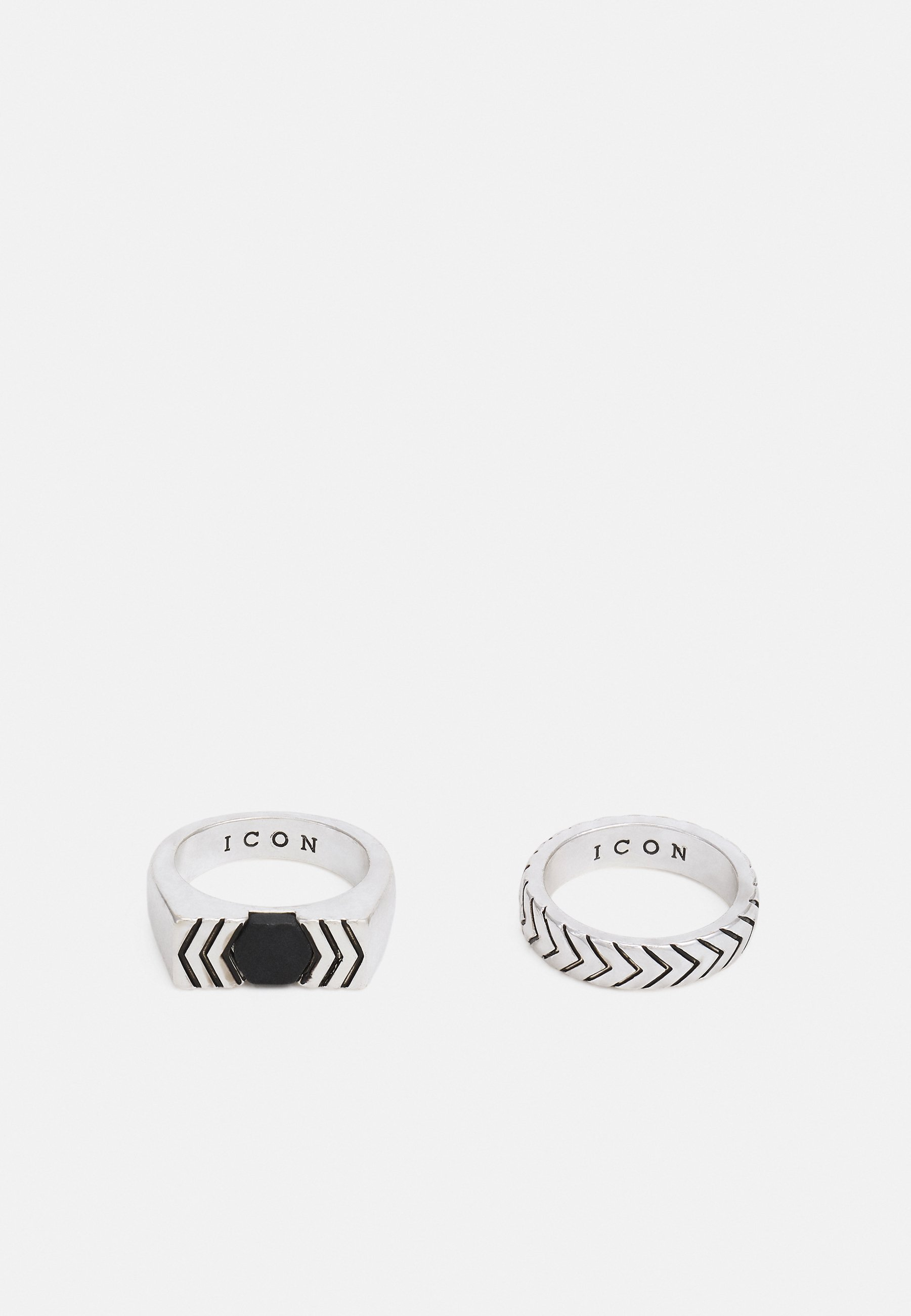 Homme COLLECTIVE CONSCIENCE COMPOSITE 2 PACK - Bague