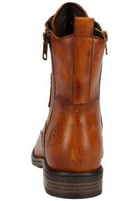 Bugatti - Lace-up ankle boots - cognac 6300 - 3