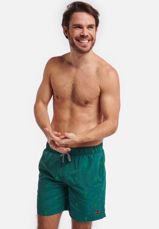 CACTUS FLOCK - Swimming shorts - cilantro