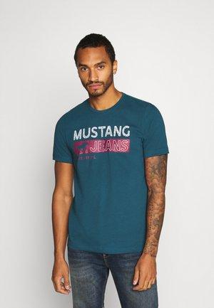 ALEX - Print T-shirt - blue