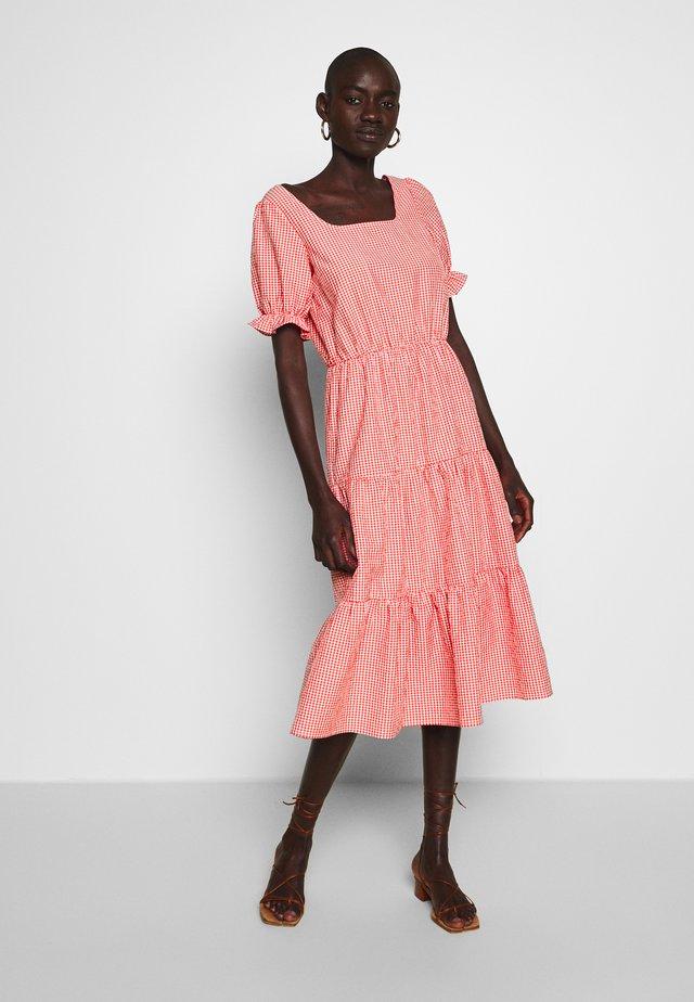 YASMILJA MIDI DRESS TALL - Day dress - red