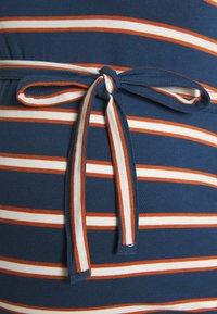 MAMALICIOUS - MLCARMEN DRESS  - Jersey dress - insignia blue/snow white - 2