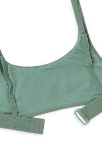 OYSHO - Bikini top - green - 6