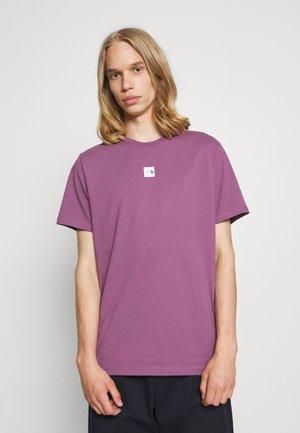 CENTRAL LOGO - Print T-shirt - pikes purple
