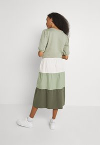 b.young - BXJONA SKIRT - A-line skirt - seagrass mix - 2