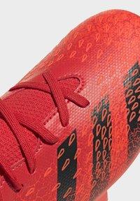 adidas Performance - PREDATOR FREAK - Moulded stud football boots - red - 8