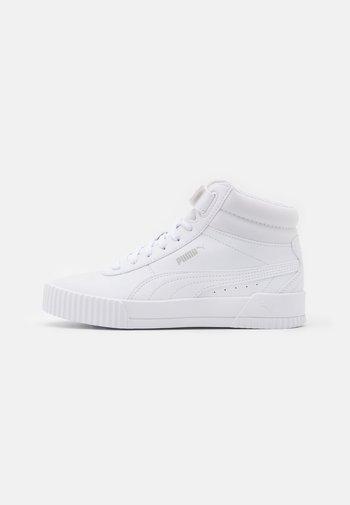 CARINA MID - Sneakers alte - white