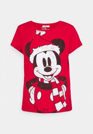 ONLDISNEY CHRISTMAS BOX - Camiseta estampada - urban red