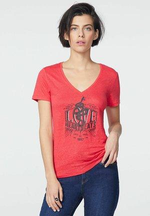 Print T-shirt - pastèque