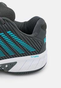 K-SWISS - HYPERCOURT EXPRESS 2 HB - Clay court tennis shoes - dark shadow/scuba blue/white - 5