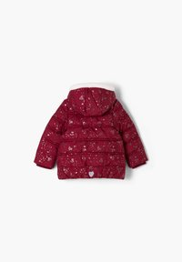 s.Oliver - Winter jacket - dark pink aop - 1