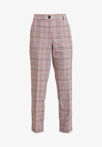 TOM TAILOR - MIA - Trousers - black/orange/grey - 3