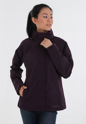 Waterproof jacket - purple