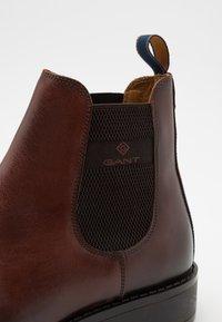 GANT - BROOKLY - Kotníkové boty - cognac - 5