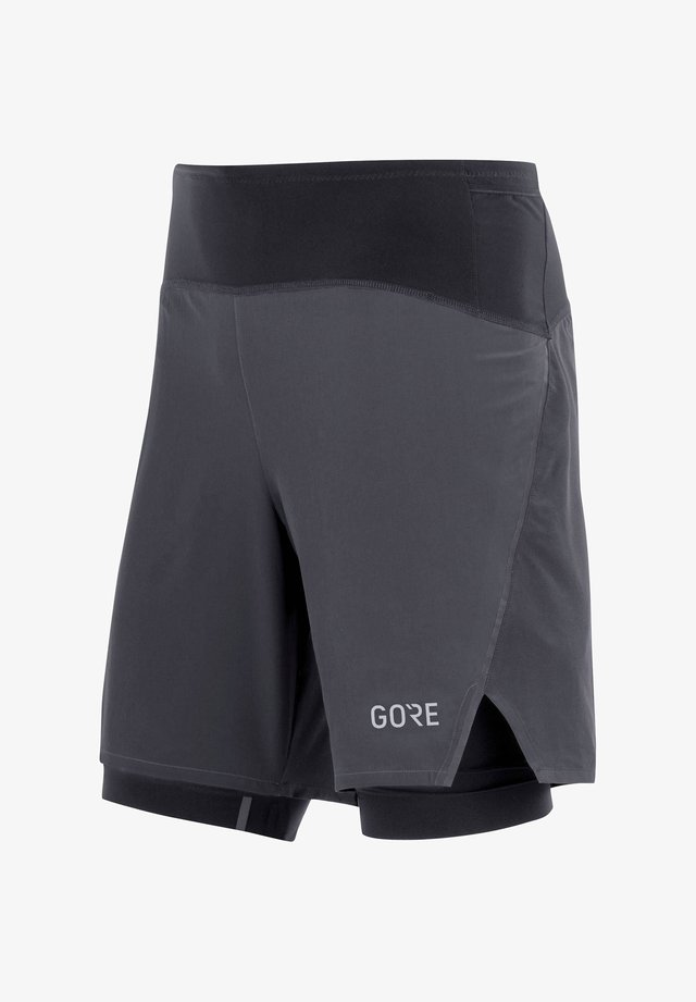 "GORE WEAR HERREN LAUFSHORTS ""R7"" 2IN1 - Sports shorts - schwarz (200)"