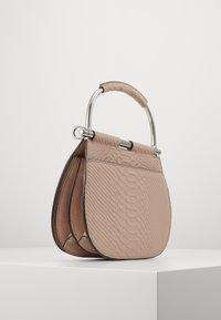 Lauren Ralph Lauren - MATTE PYTHON MASON  - Handbag - mellow pink - 4