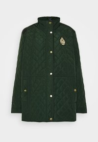 Lauren Ralph Lauren Woman - CREST QUILTED JACKET - Light jacket - hunter green - 3