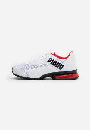 LEADER VT BOLD - Sports shoes - white/high risk red/black
