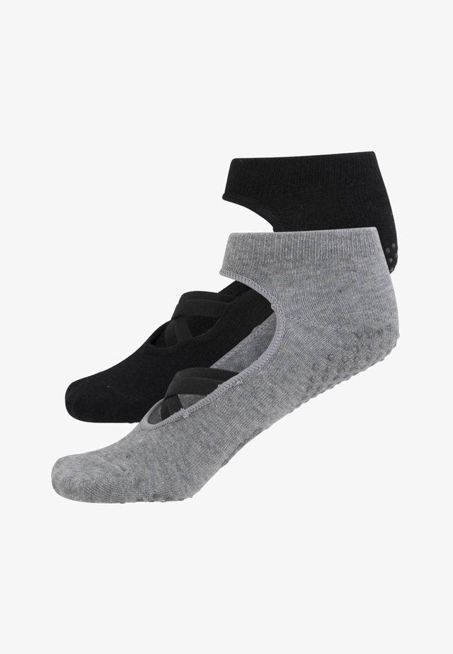 2ER-PACK  - Sports socks - black