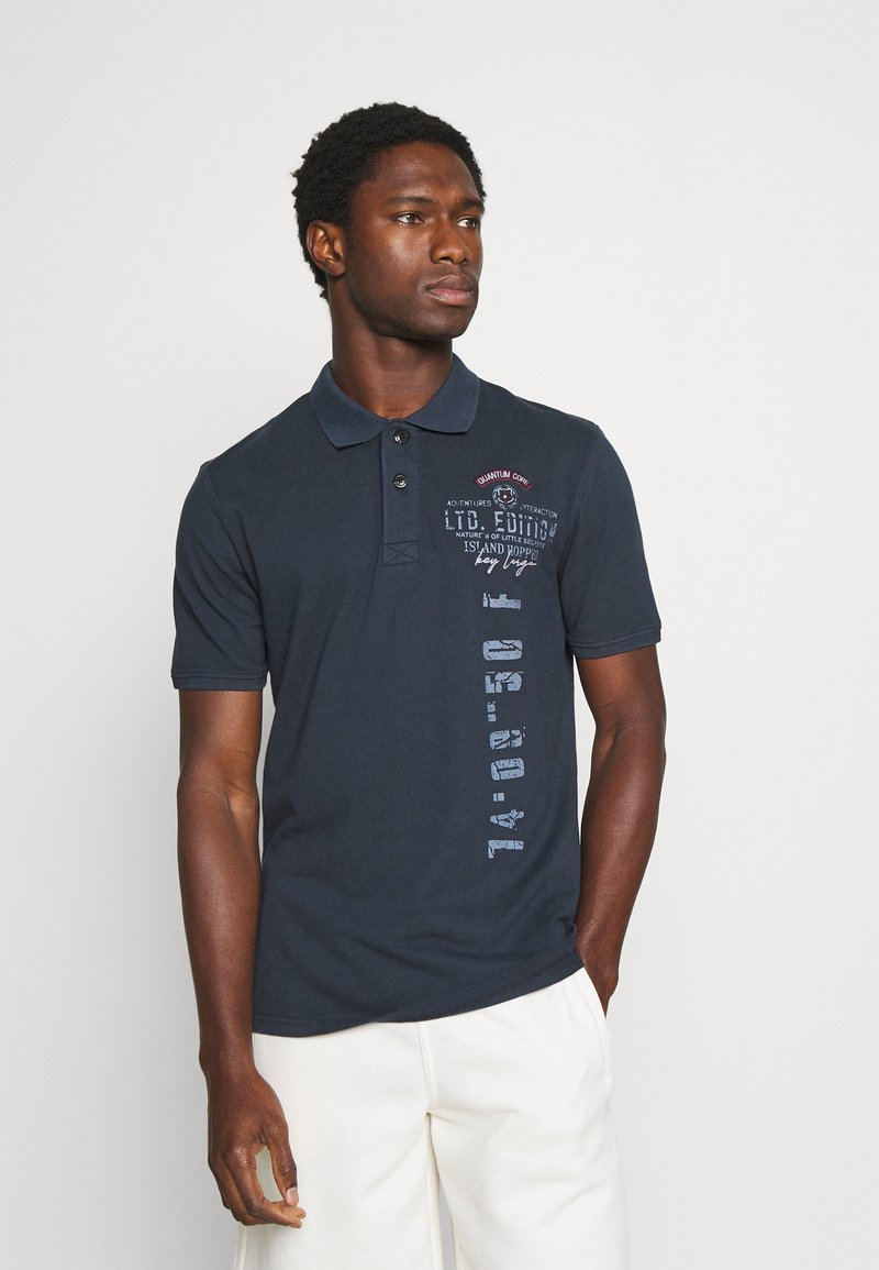 Key Largo - COMPETITION POLO - Polo shirt - navy