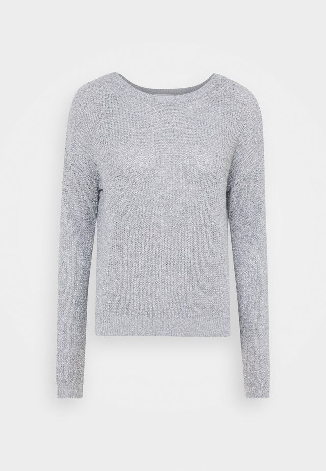 CREW NECK - Pullover - dove grey