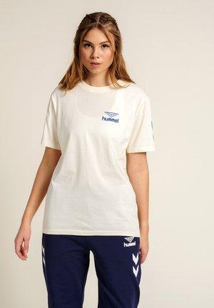 Print T-shirt - marshmallow