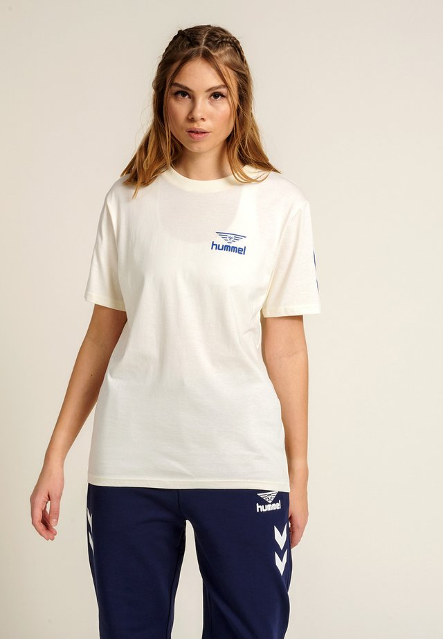 T-shirt imprimé - marshmallow