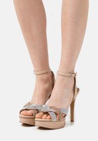 ALDO - ADREDITH - Platform sandals - bone - 0