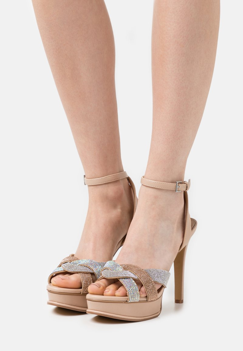 ALDO - ADREDITH - Platform sandals - bone