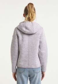Schmuddelwedda - Fleece jacket - rauchlila melange - 2