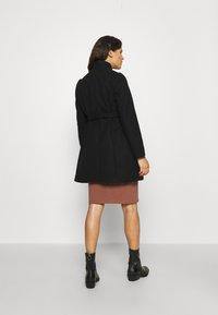 MAMALICIOUS - MLNEWROXY COAT - Short coat - black - 2