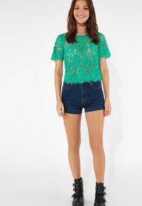 Tezenis - Denim shorts - dark blue jeans - 1