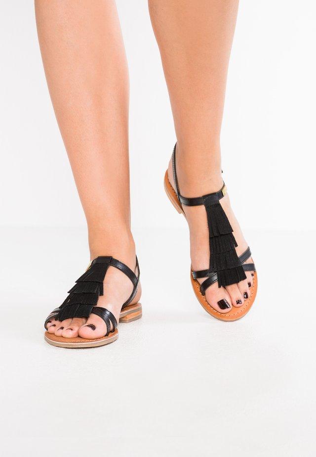 BELIE - Sandały - noir
