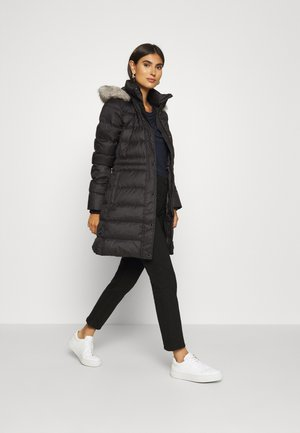 TYRA COAT - Donsjas - black