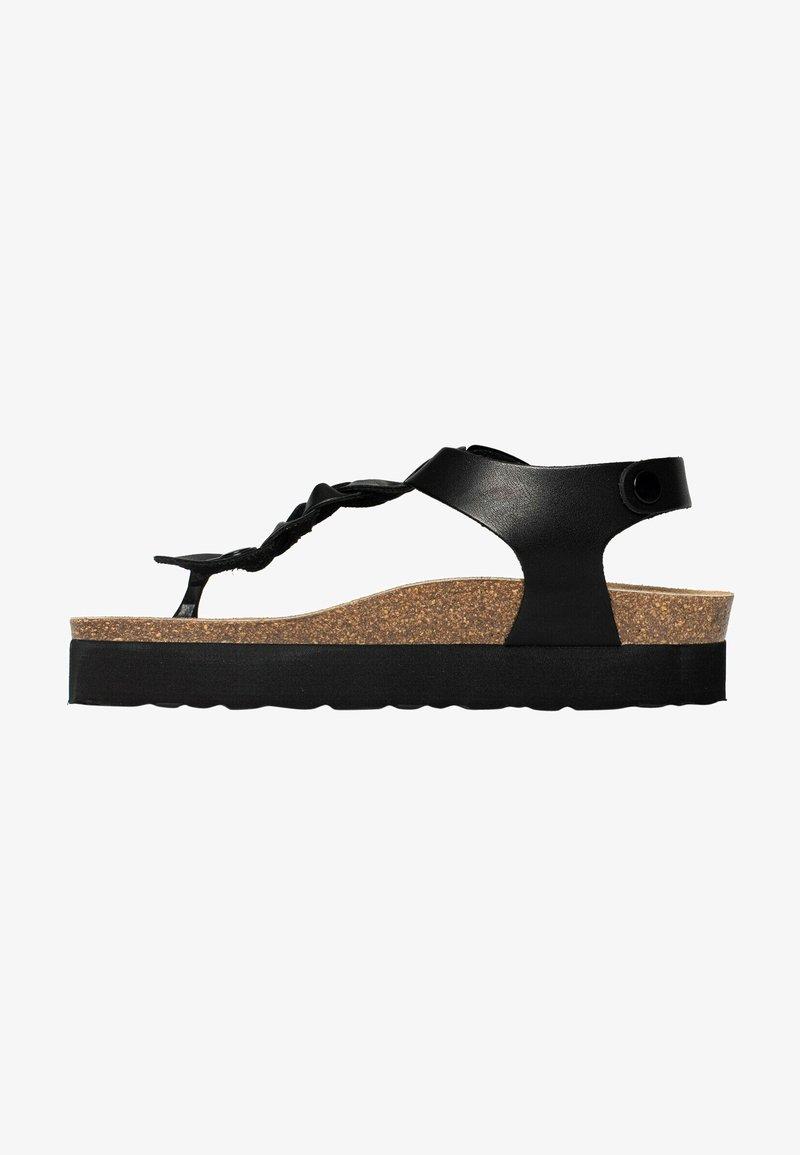 BAYTON - T-bar sandals - black