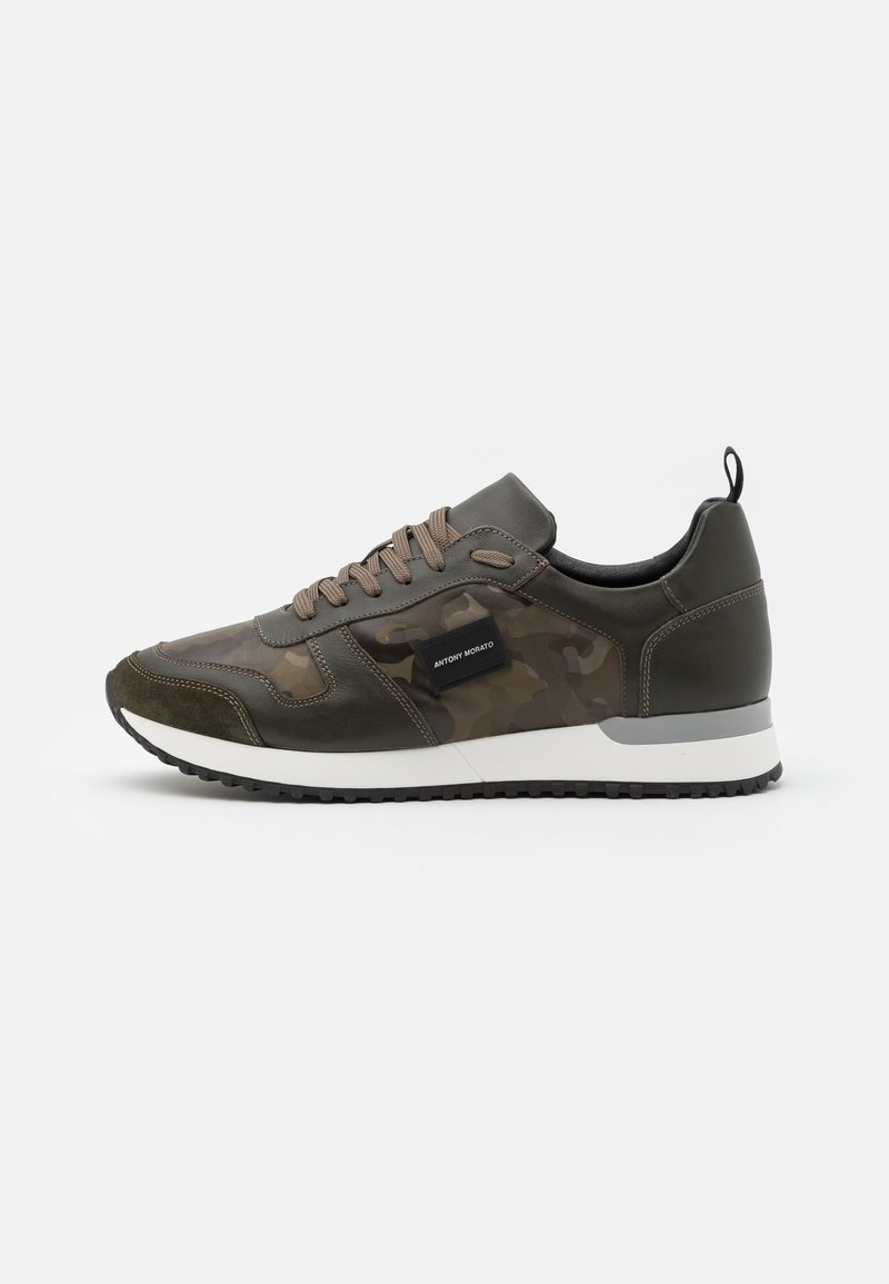 Antony Morato - RUN METAL - Sneakers laag - khaki
