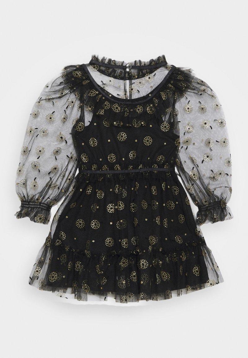 Cotton On - ALICE MCCALL LONG SLEEVE DRESS - Koktejlové šaty/ šaty na párty - black