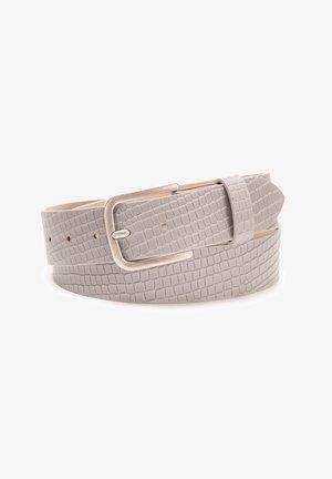 Belt - creme