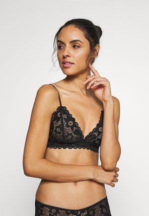 MARILYN BRA - Triangle bra - black