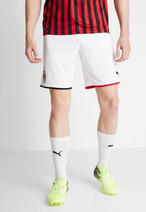 AC MAILAND 1899 SHORTS REPLICA  - Sports shorts - white/tango red