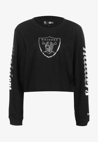 New Era - PROPERTIES OAKLAND RAIDERS  - Long sleeved top - black - 0