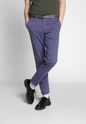 JJIROY JJJAMES VINTAGE - Chino kalhoty - vintage indigo