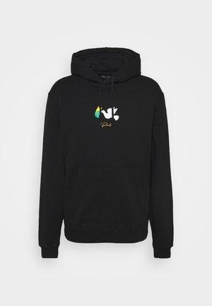 HEALER HOOD - Sweatshirt - black
