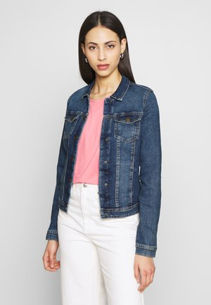 ONLWESTA - Denim jacket - dark blue denim